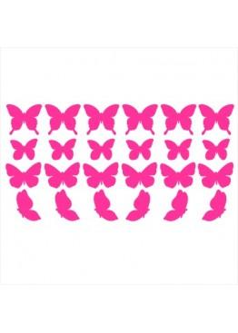 Набор наклеек бабочки (цвет на выбор)