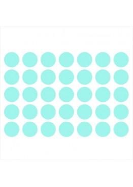 Набор наклеек круги (цвет на выбор)