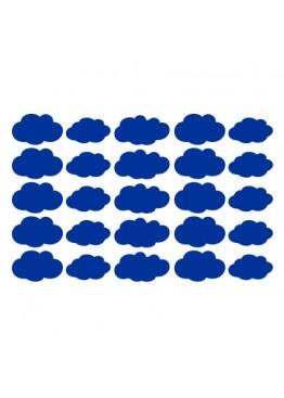 Набор наклеек облака (цвет на выбор)