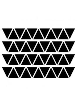 Набор наклеек треугольники (цвет на выбор)