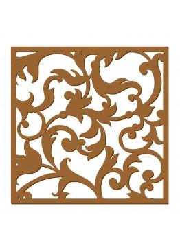 Декоративная панель Винтажные веточки (арт. dp1). Цена за 1м2.