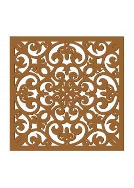 Декоративная панель Восточный узор (арт. dp12). Цена за 1м2.