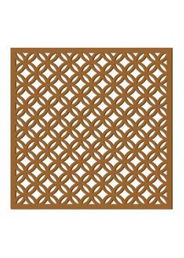 Декоративная панель Геометрический узор (арт. dp2). Цена за 1м2.