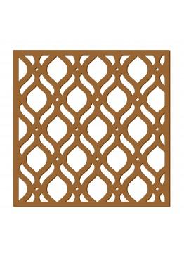 Декоративная панель Капли (арт. dp7). Цена за 1м2.