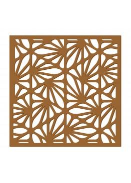 Декоративная панель Веера (арт. dp8). Цена за 1м2.