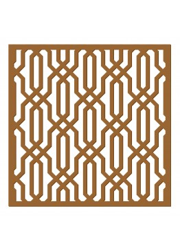 Декоративная панель Геометрический узор (арт. dp9). Цена за 1м2.