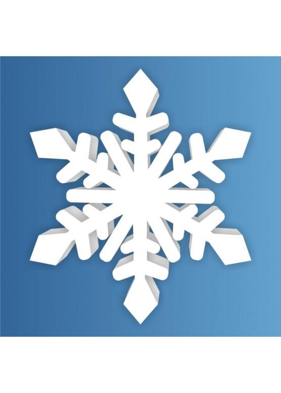 Снежинка пенопласт, толщина 2 см (арт. PEN_SNG3)