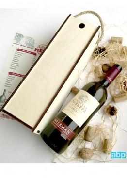 Коробка- пенал под бутылку вина/шампанского