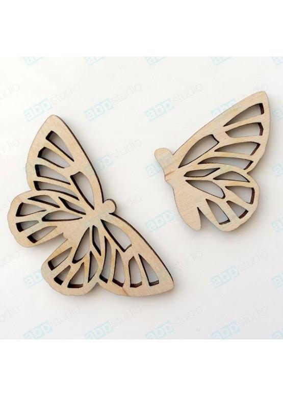 Бабочки 2 шт (арт.bt11)