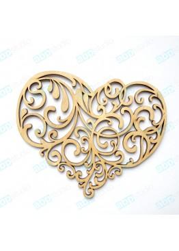 Ажурное сердце (арт.FL1)