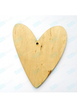 Подвеска сердце (арт.FL6)