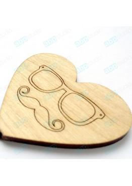 Сердце man (арт.FL32)