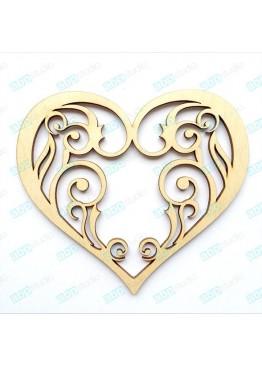 Ажурное сердце (арт.FL44)