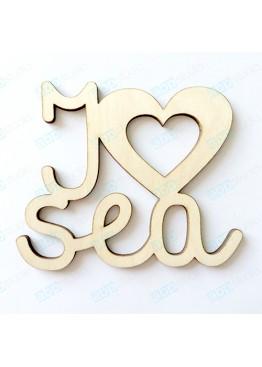 I love sea  (арт.Mr12)