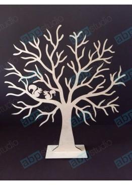 Дерево с белочками (арт.w3)