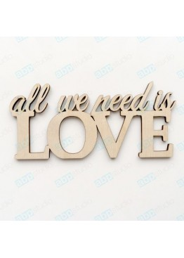 all we need is love (арт. WP31)