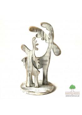 Олени из дерева (арт. SNGd4)