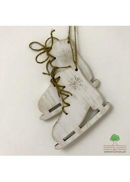 Коньки из дерева 2 шт (арт. SNGd8)