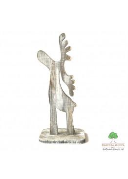 Олень из дерева (арт. SNGd7)
