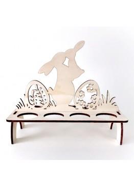 Подставка пасхальная для яиц с кроликами (арт.psh2)