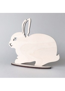 Кролик пасхальный из дерева (арт.psh_b4)