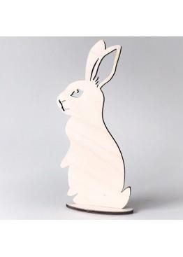 Кролик пасхальный из дерева (арт.psh_b3)