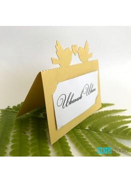 Рассадочные карточки с птичками (арт.rk10)