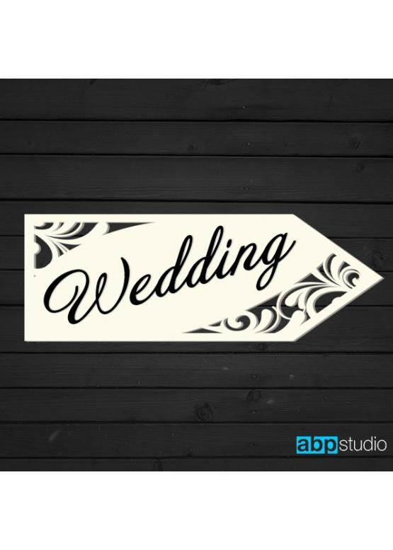Указатель Свадьба/Wedding (арт.St12)
