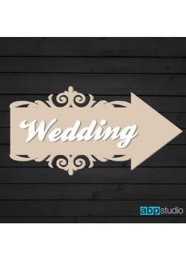 Указатель Свадьба/Wedding (арт.St13)