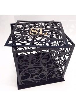 Свадебная коробка для пожеланий оргстекло (Размер 25см или 30см)