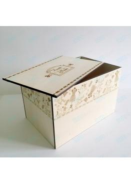 "Коробка для хранения ""Hand Made"". Размер 30х20х20см."