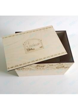 """Коробка для хранения """"Fashion"""". Размер 25х17х17см."""
