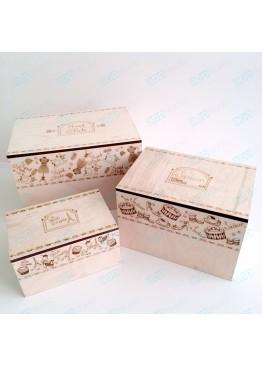 Набор коробок для хранения