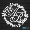 Свадебные монограммы (гербы)