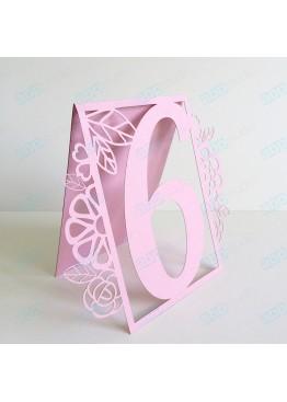 Номера ажурные картон (арт.n2)