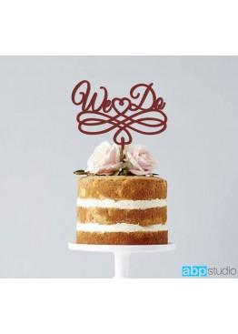 Топер в торт We Do  (арт.tpt5)