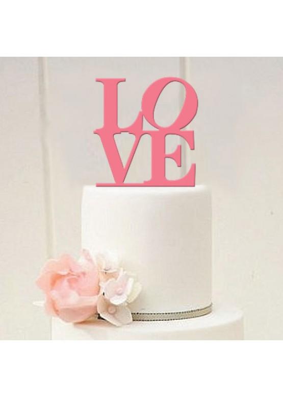 Топер в торт Love  (арт.tpt9)