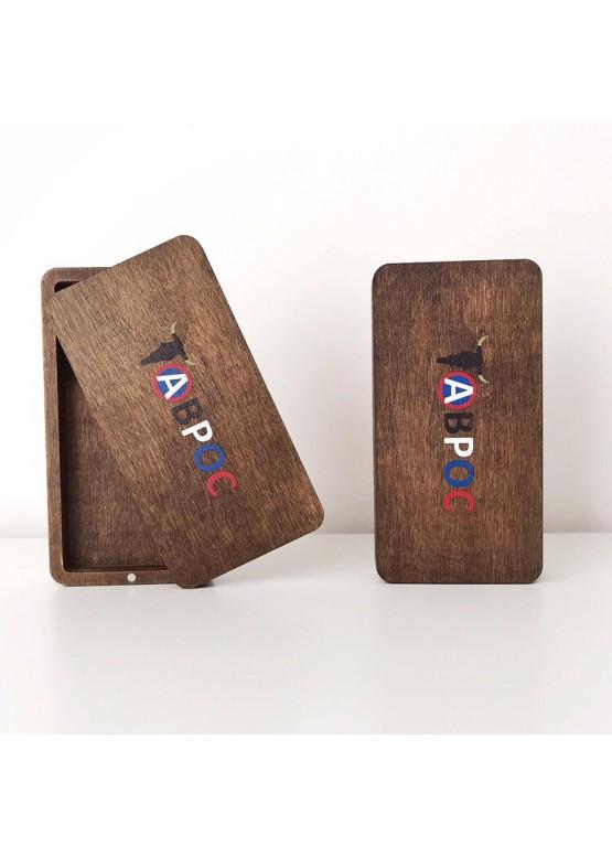 Счетница  на магнитах с покраской морилкой и гравировкой (арт.Sch5)