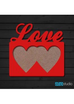 Фоторамка Love  (арт.ft8)