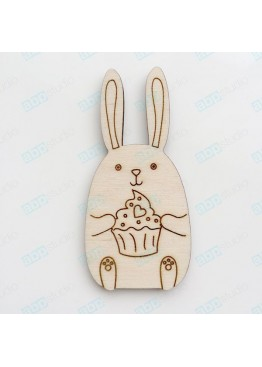 Заяц с кексом (арт.Сhb60)