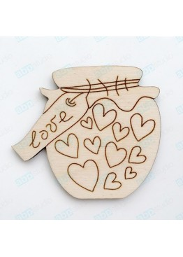 Баночка любви (арт.Сhb63)