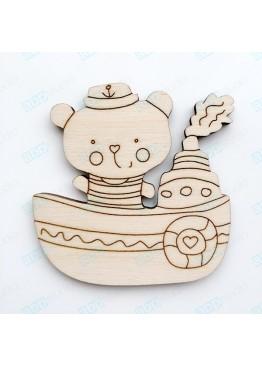 Мишка моряк (арт.Сhb57)