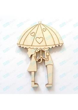 Пара под зонтом (арт.Сhb46)