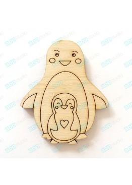 Пингвины (арт.Сhb35)