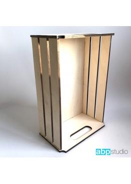 Ящик декоративный.  Размер 42х27х16,5см (арт.ja5)