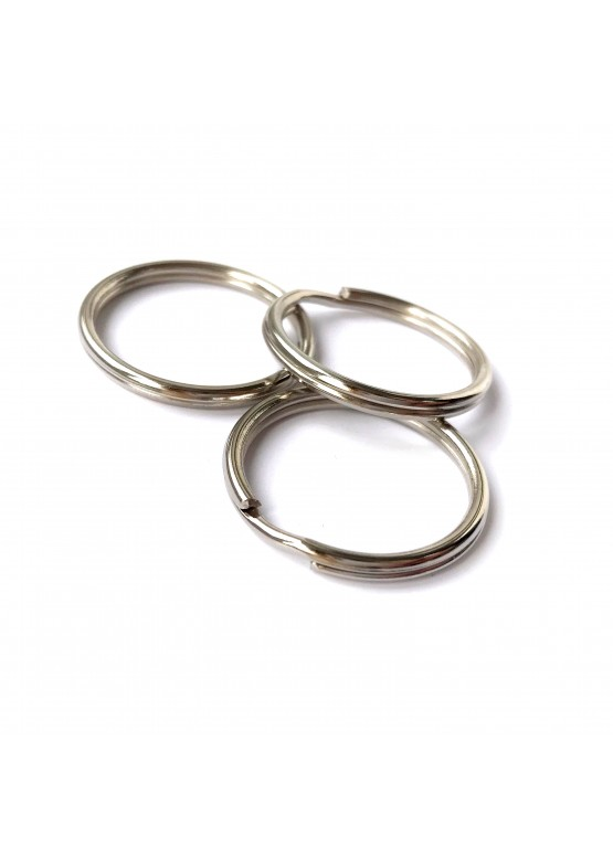 Металлическое кольцо  21мм,  цвет серебро (арт.MkK1)