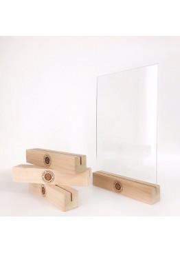 Тейбл тент A4 деревянный